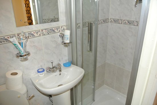 Enterprise Hotel: Bagno piccolo