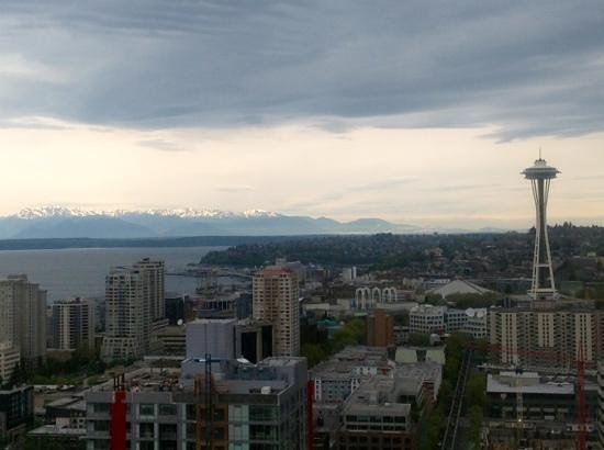 The Westin Seattle: Another view from room 3630, Deluxe King w / view - iPad