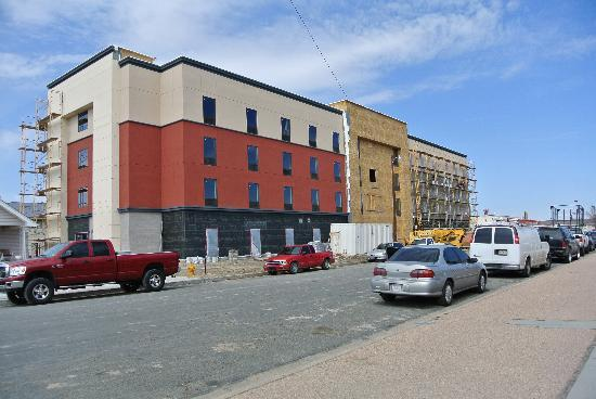 Hampton Inn Fort Morgan: contruction