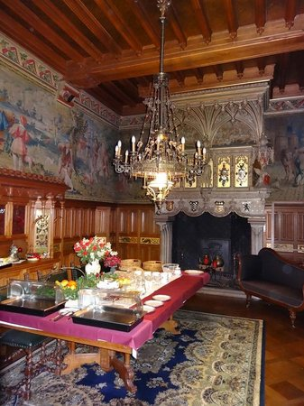 Kasteel ten Berghe: Breakfast buffet