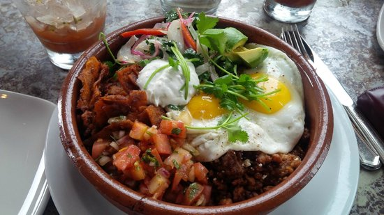 Hermosa Beach, Californie : Huevos Rancheros 