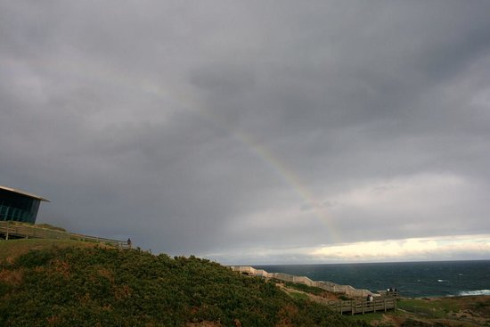 Phillip Island, Australia: Rainbow Over The Nobbies Centre