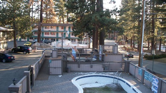 Stardust Lodge: Hot Tub