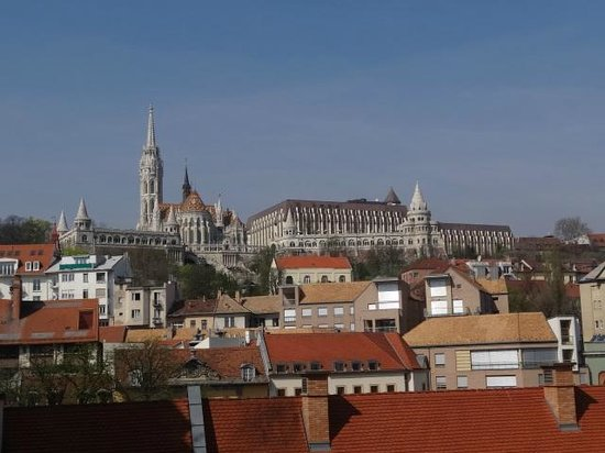 art&#39;otel budapest: View from room 425