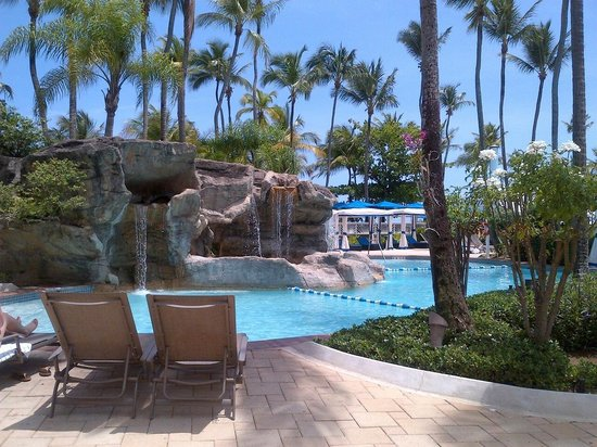 InterContinental San Juan Resort &amp; Casino: Pool area