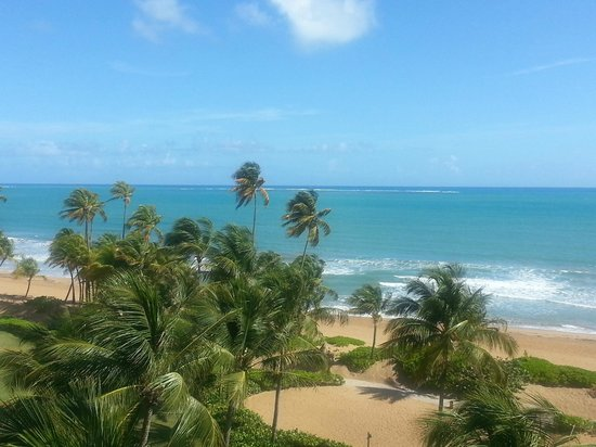 Wyndham Grand Rio Mar Beach Resort &amp; Spa: Our beautiful view!