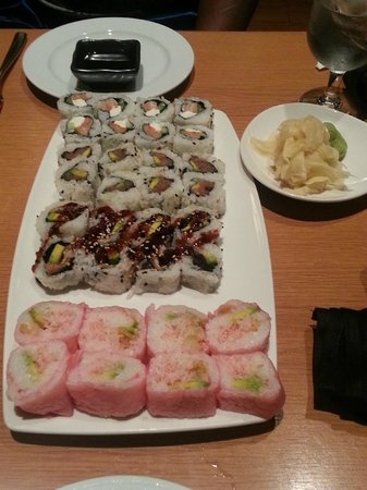 Wyndham Grand Rio Mar Beach Resort &amp; Spa: Shimas - half price sushi