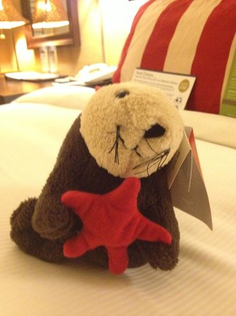 Portola Hotel & Spa at Monterey Bay: Sea otter available for purchase