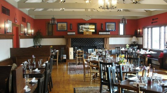 Auburn, Nueva York: Springside Inn - Dining Room