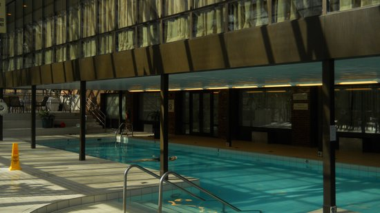 Princeton Marriott Hotel & Conference Center at Forrestal: Indoor pool