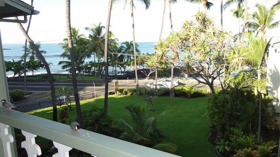 Kona Islander Inn: Breakfast with new friends