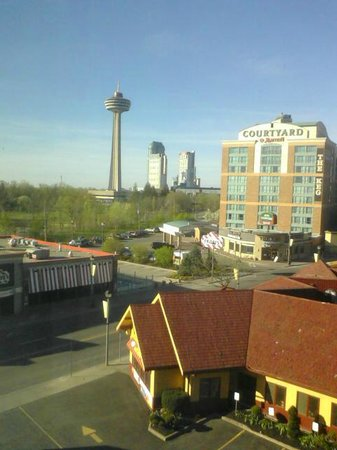 Howard Johnson Hotel By The Falls: View from our room