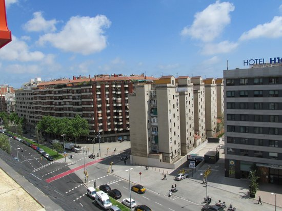 Sercotel Abbot: View from the Solarium on Av. de Roma
