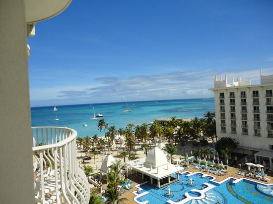Riu Palace Aruba: Nice morning from room 726, building B