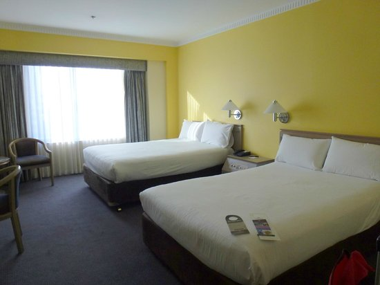 Hotel Grand Chancellor Adelaide on Hindley: Comfortable beds