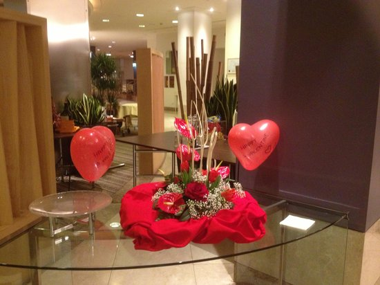 Hilton Milan: Nicely touch to welcome Valentine&#39;s Day