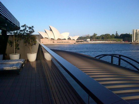 Park Hyatt Sydney : sun deck from root top suite