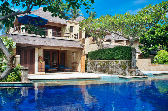 Senggigi Beach Hotel Pool Villa Club: Front Pool Villa Club Senggigi Beach