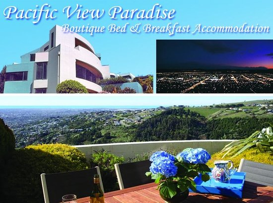 Pacific View Paradise Bed & Breakfast: Spectacular Views