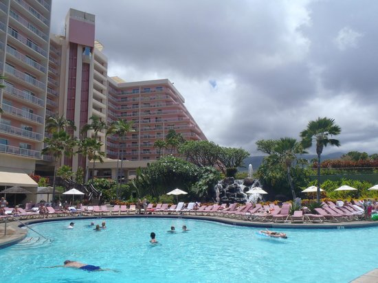 Ka'anapali Beach Club: Hotel and pool
