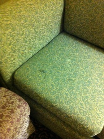 Holiday Inn Express Houston - Hobby Airport: Stains on furniture.