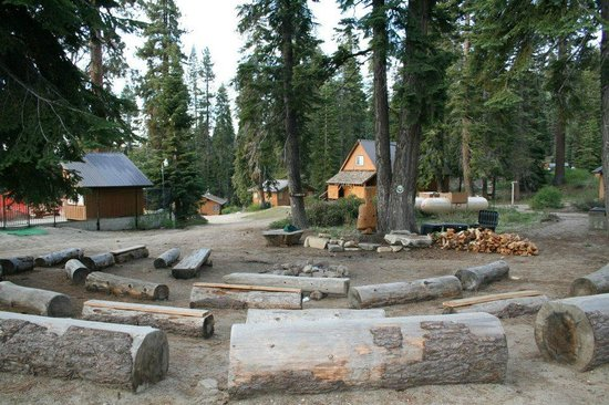 Montecito Sequoia Lodge: Campfire place
