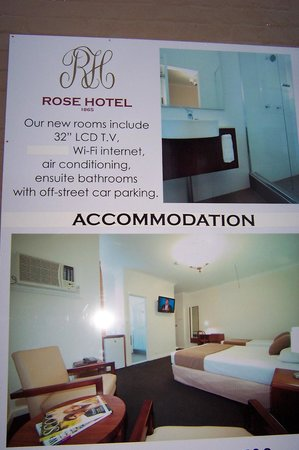 Rose Hotel: accommodation