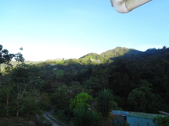Chirripo National Park, Costa Rica : View from the front patio into the valley