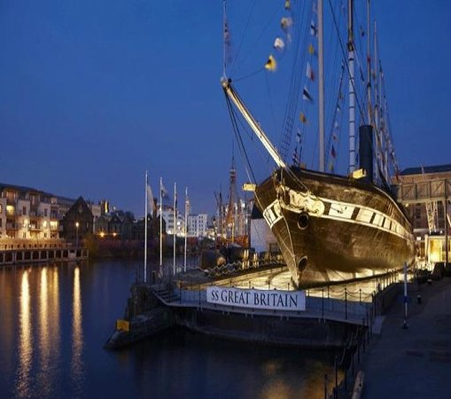 Bristol, UK: SS Great Britain
