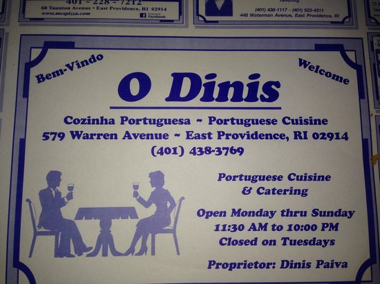 East Providence restaurants