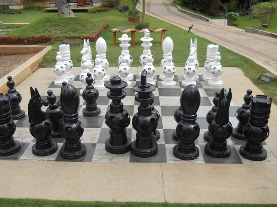 The Windflower Resort and Spa, Mysore: Chess Ground