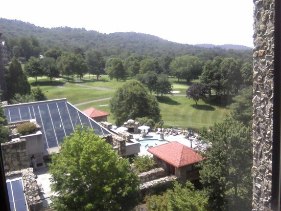 The Grove Park Inn : Golf course and Spa
