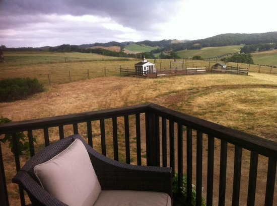 Orchard Hill Farm Bed &amp; Breakfast: Views from the room&#39;s deck