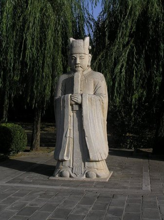 """Brick Statue of """"Journey to the West"""""""