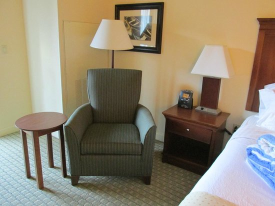 Holiday Inn Resort Lake George: Comfy chair in master bedroom