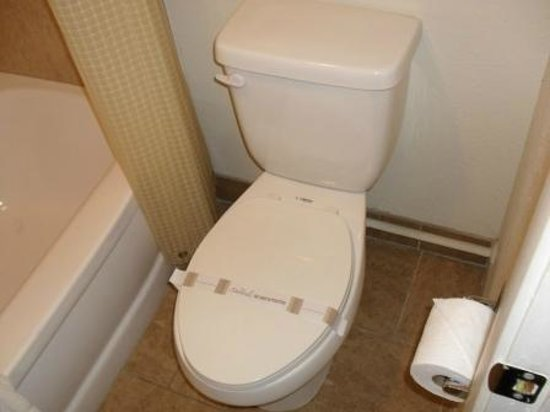 Americas Best Value Inn - Downtown Phoenix: Toilet seat