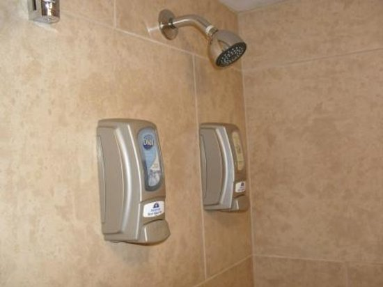 Americas Best Value Inn - Downtown Phoenix: Shower soap and shampoo