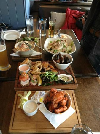 Howth, Irlanda: nice food