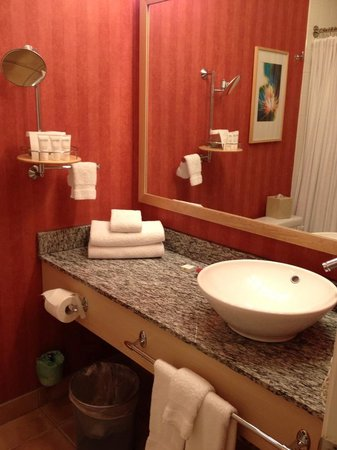 Wild Palms Hotel - a Joie de Vivre Hotel: Bathroom was Top-notch
