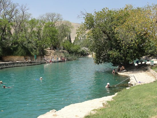 Beit She'an, Israel: Relaxation with a big R