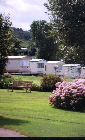 West Quantoxhead, UK: Privately owned caravans