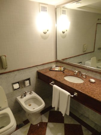 Sheraton Buenos Aires Hotel &amp; Convention Center: Bathroom
