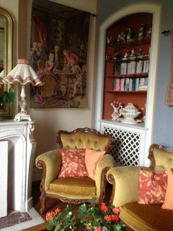 Loches, Frankrig: Living Room