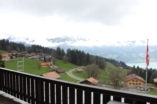 Beatenberg, Switzerland: View from the room