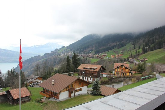 Beatenberg, Switzerland: View from room