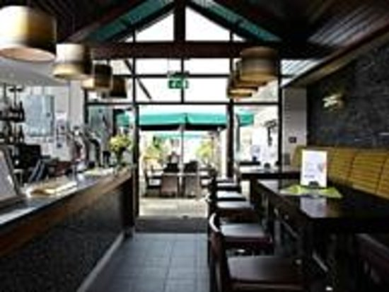 TERRACE BAR @ THE TROUT HOTEL COCKERMOUTH
