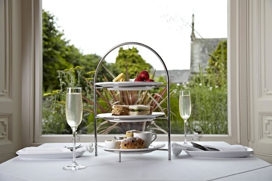 CHAMPAGNE AFTERNOON TEA @ THE TROUT HOTEL COCKERMOUTH