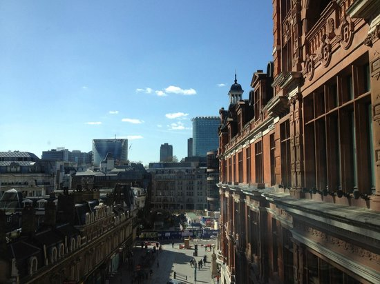 Andaz Liverpool Street: View from window