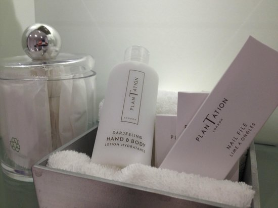 Andaz Liverpool Street: High quality bath products