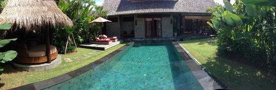 Space at Bali: Villa panoramic